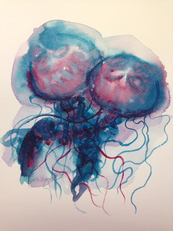 Laura Mustis Junior Year Watercolor