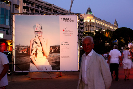 Summer 2009, Cannes, Festival International de la Photo de Mode.