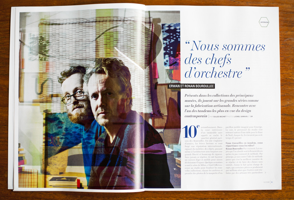 rwann & Ronan Bouroullec, designers
