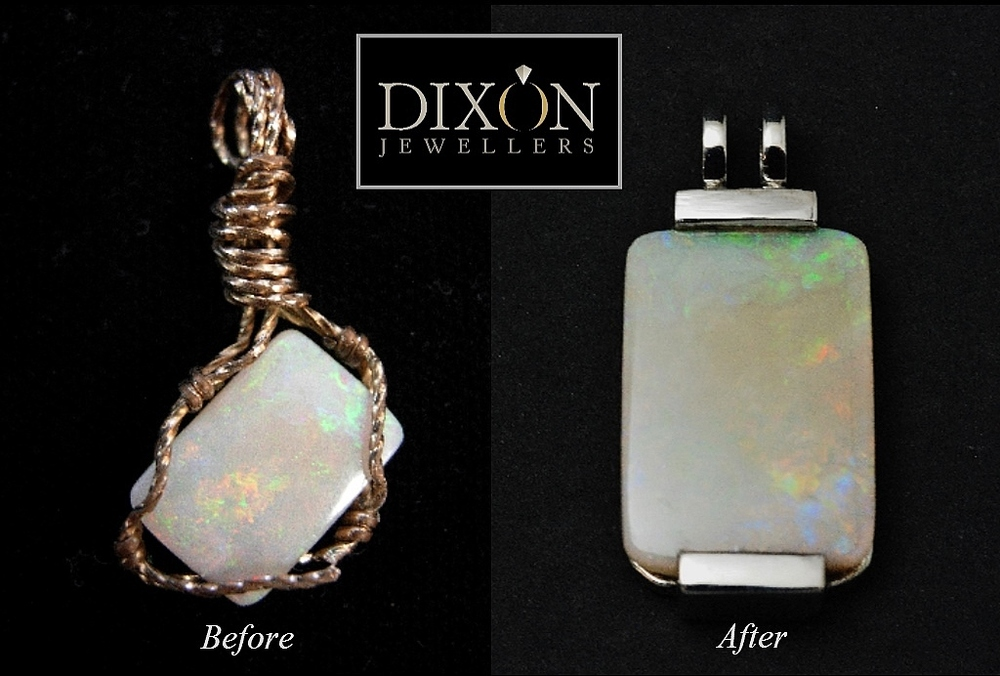 Opal Pendant Redesign. 2014.