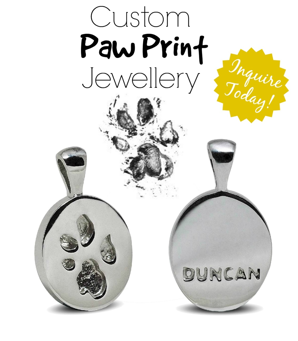 CustomPawPrintJewellery