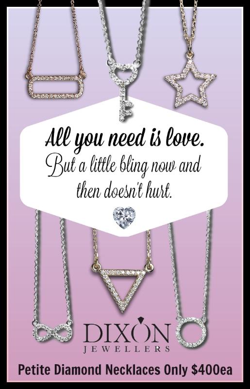 Petite Diamond Pendants
