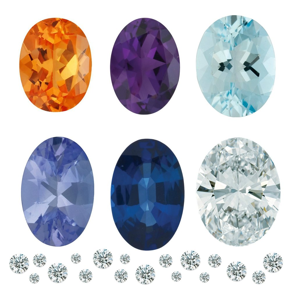 STEP 2 - FINDING THE PERFECT STONE(S)   If your custom design idea needs a gemstone or diamond, we will help you find the perfect one. Choose from one of the many premium loose stones we keep in stock or have us bring in a few for you to compare and contrast. Often the stone is one of the most important parts of a design and we will make sure you get one that fits not only your dreams but also your budget!
