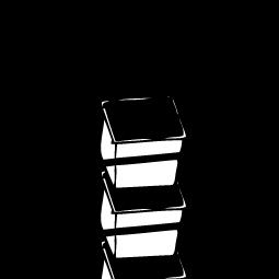 Parihuela cúbica de 0.027 m3 (30x30x30 cm)