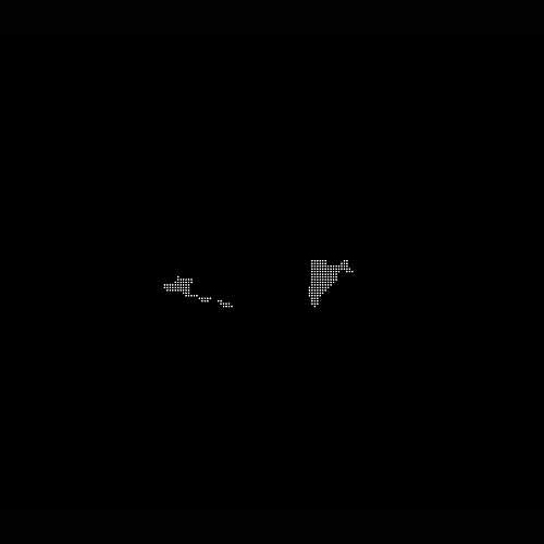 Kinect scan, mylar