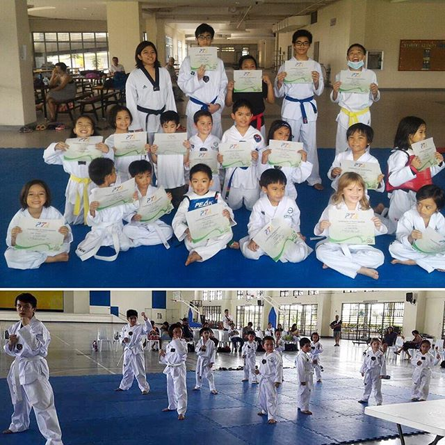 Congratulations to our students at Xavier school and Miriam college #Nuvali for taking their promotional test! #yellowbelt #bluebelt #blackbelt #dicipline Looking forward to more #taekwondo action this school year! #raiseyourgame #laguna #hiyaaa
