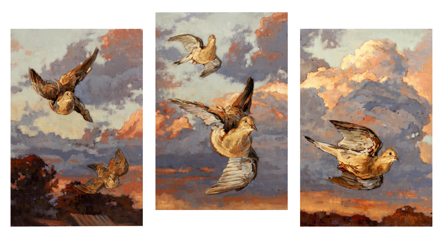 ryan_kirby_original_dove_painting_first_light_flight