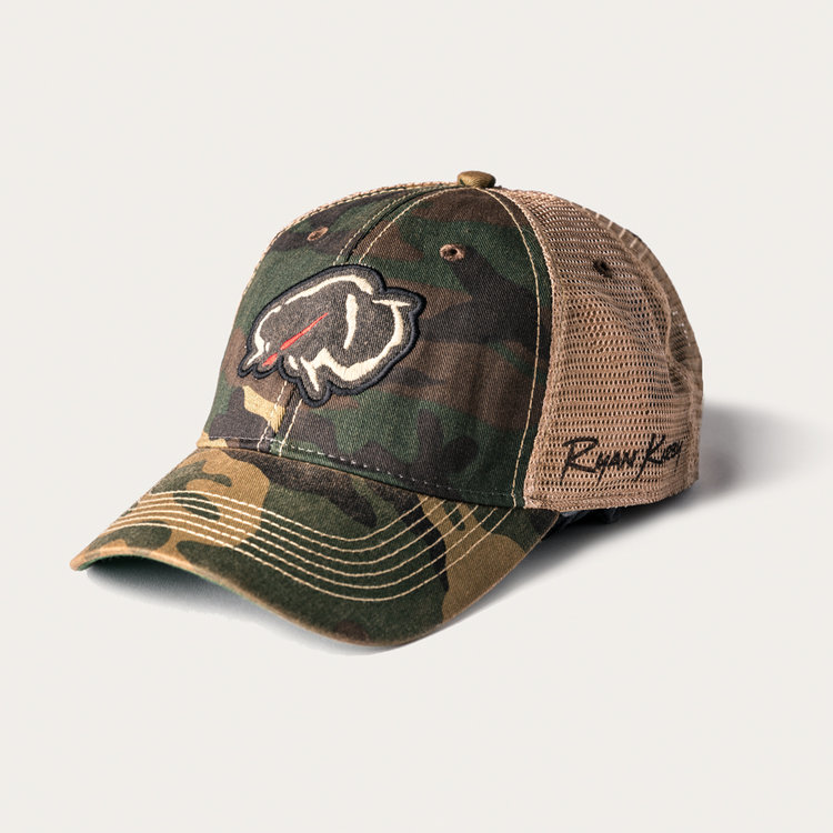 6314df01034 Ryan Kirby Art — Ryan Kirby Art Vintage Camo Trucker Hat
