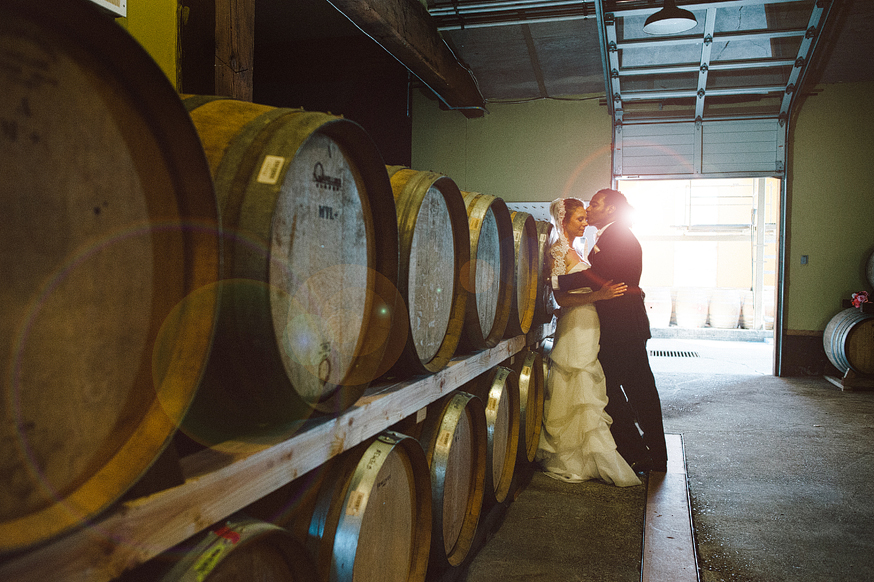 ponzi vineyards Wedding