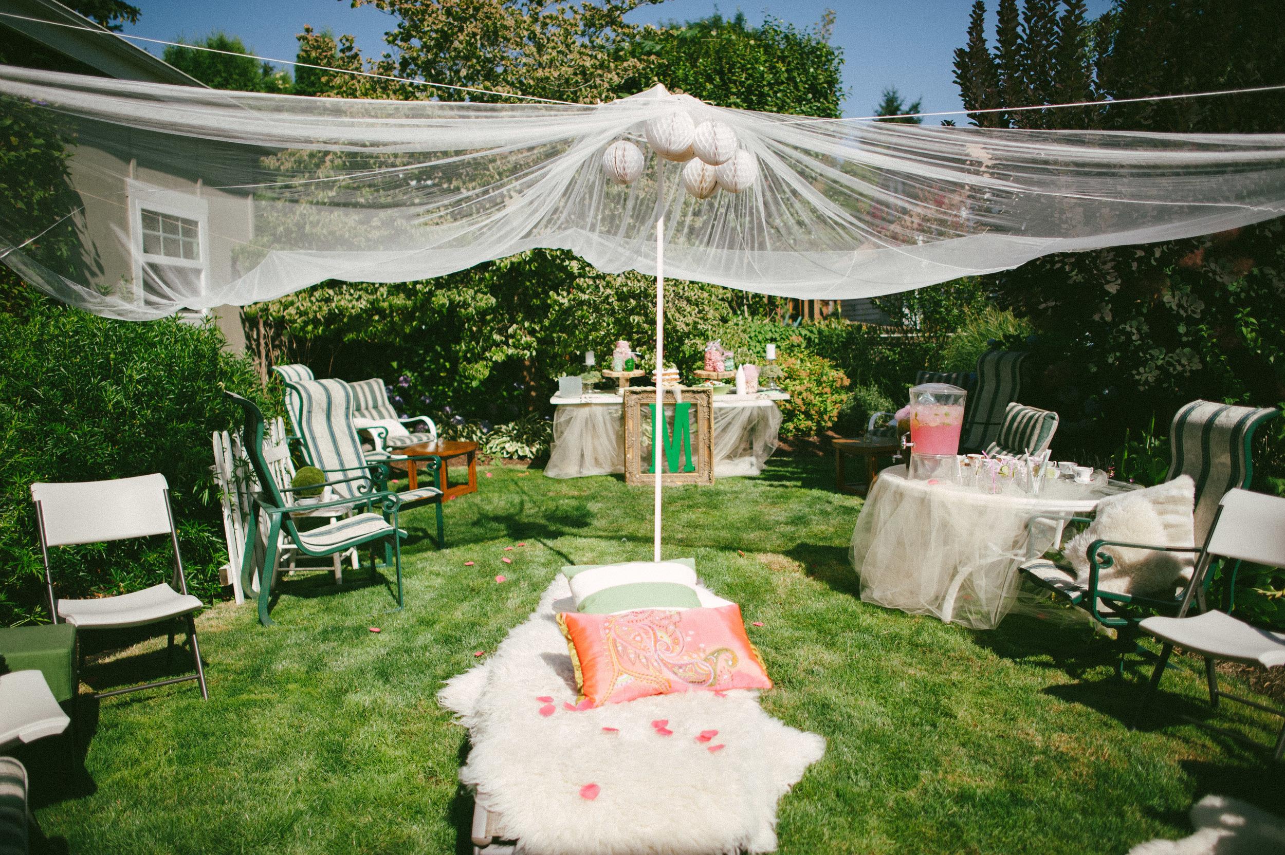 Green Pink Garden Inspired Bridal Shower Christa Taylor