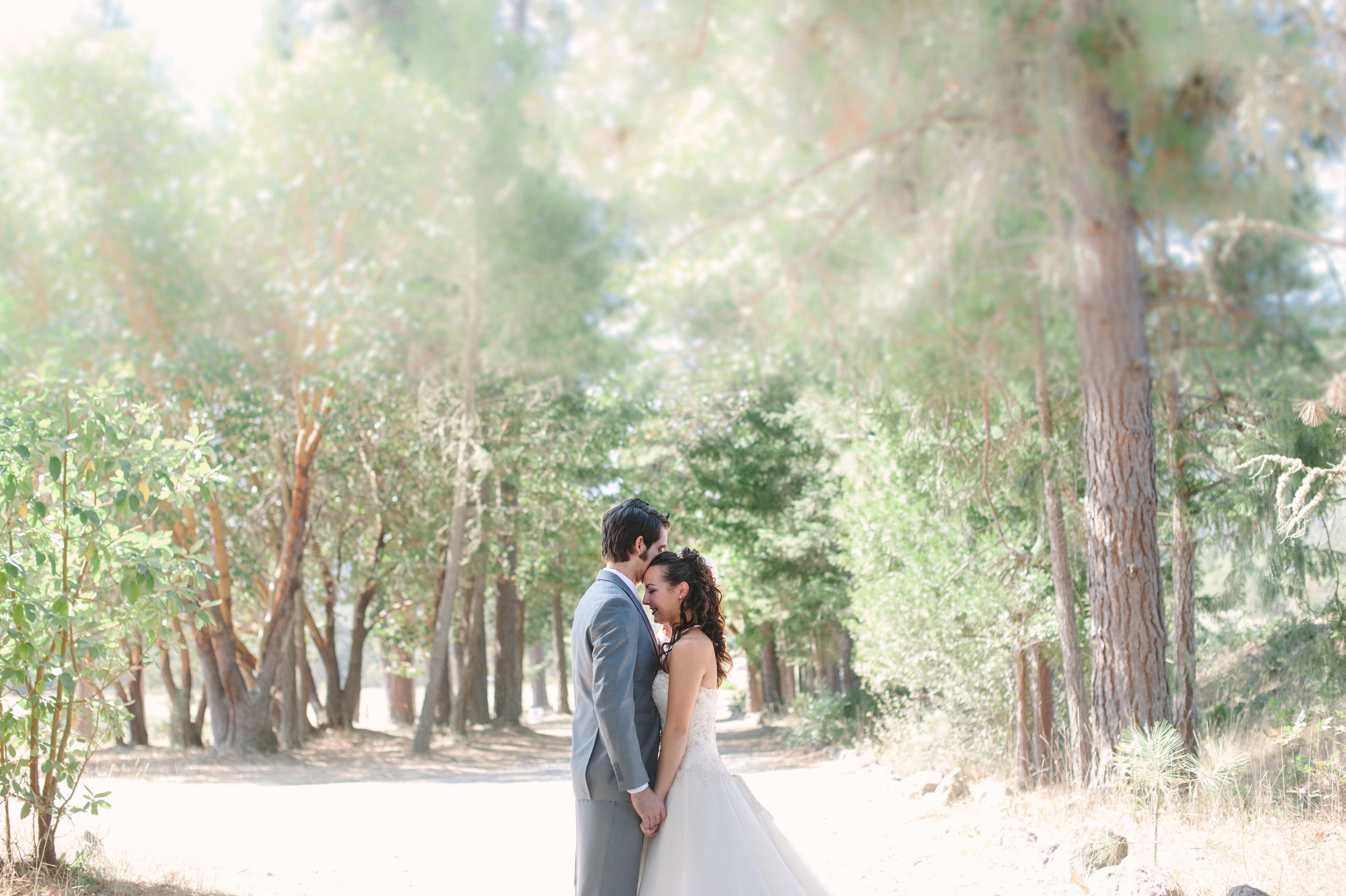 First Look Pacifica Gardens Wedding