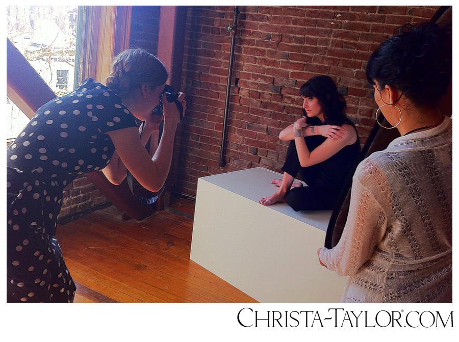 Behind the Scenes- Glamor Portraiture