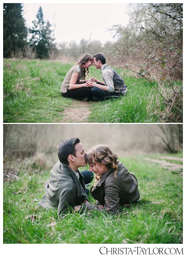 Sauvie Island engagement