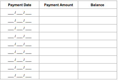 How do you create a photography payment plan christa for My contractor plan