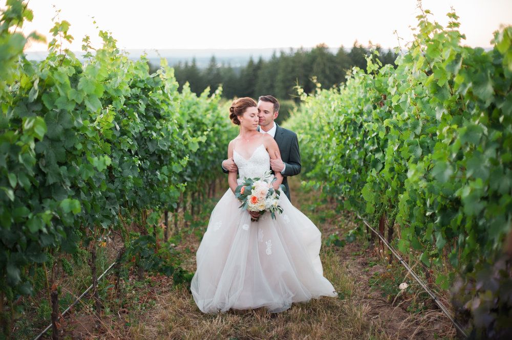 Ponzi Vineyard Wedding Photos