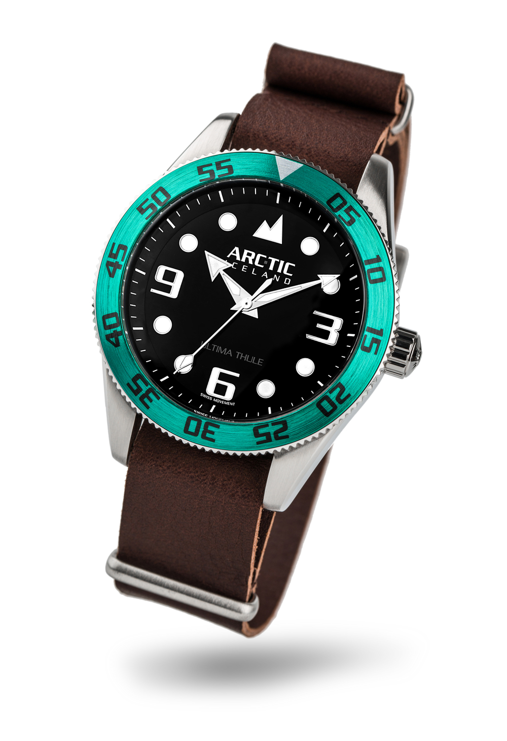 ARC-TIC Iceland UT Green with leather strap    Learn More