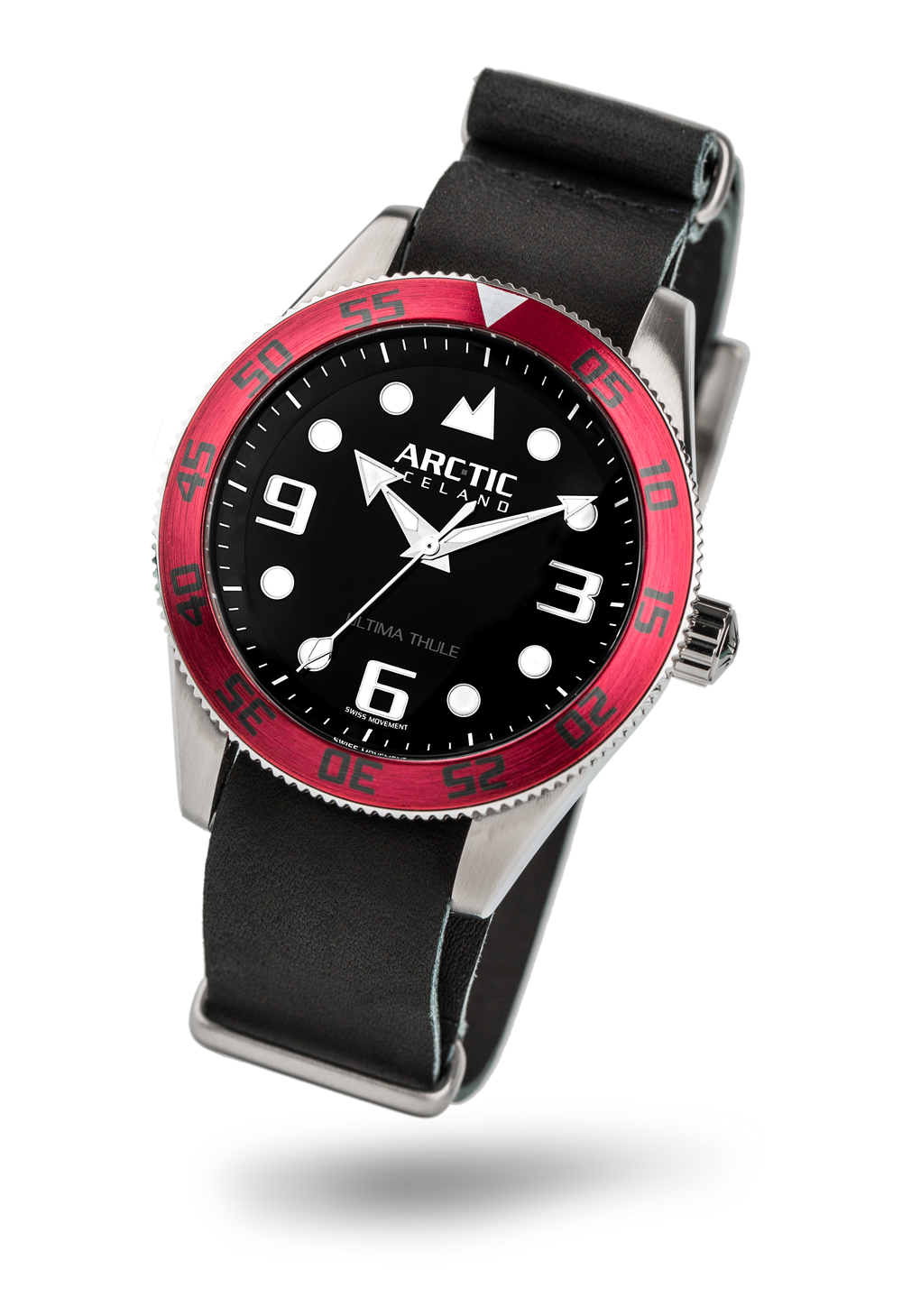 ARC-TIC Iceland UT Red with leather strap  Learn More