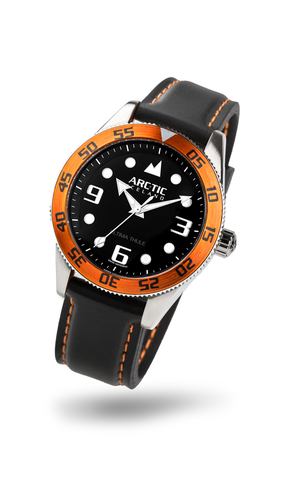 ARC-TIC Iceland UT Orange with rubber strap  Lear More