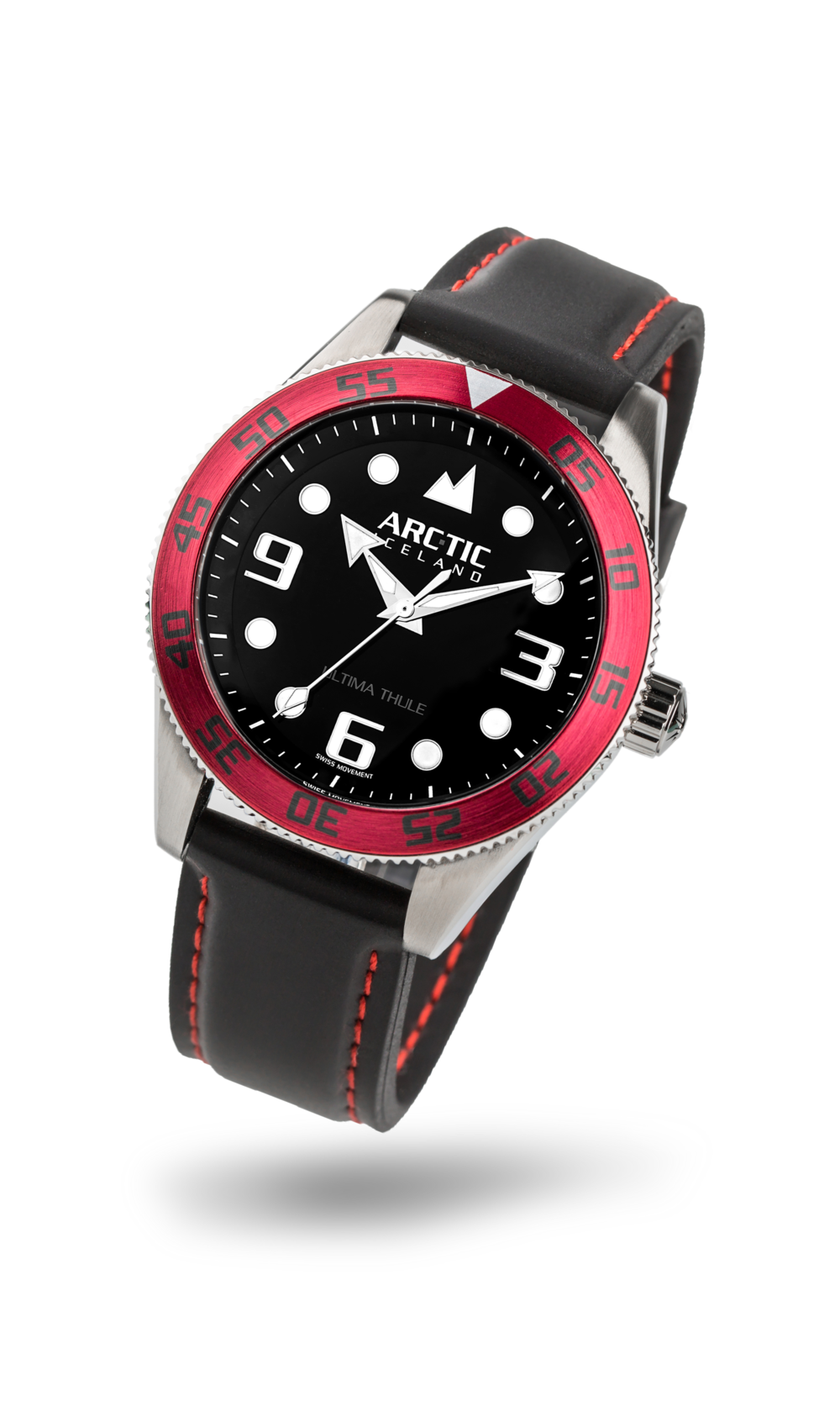 ARC-TIC Iceland UT Red with rubber strap  Learn More