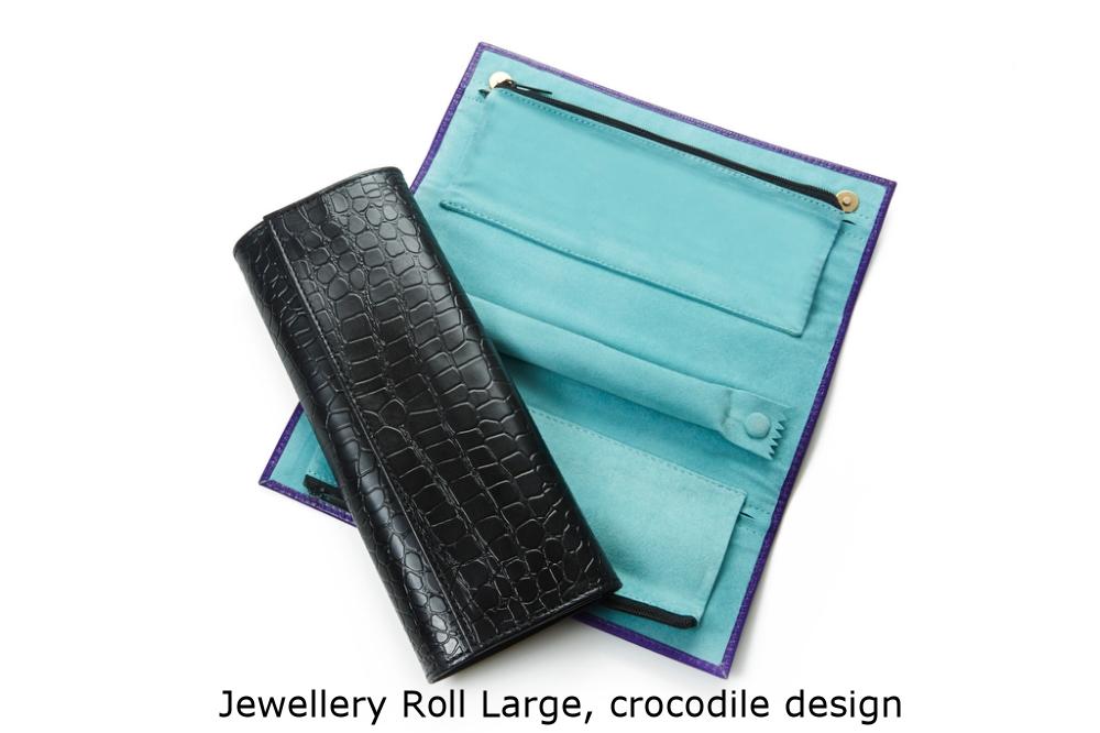 Jewellery Roll Large Crocodile.jpg