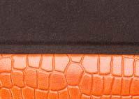 Crocodile Orange lined dark brown.jpg