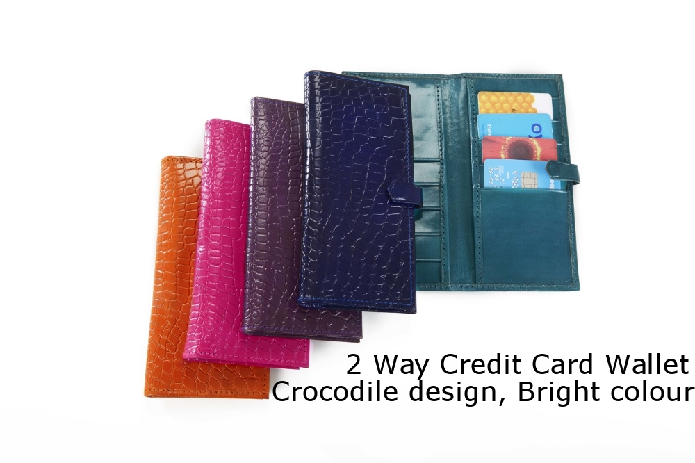 2 Way Credit Card Wallet Crocodile Bright.jpg