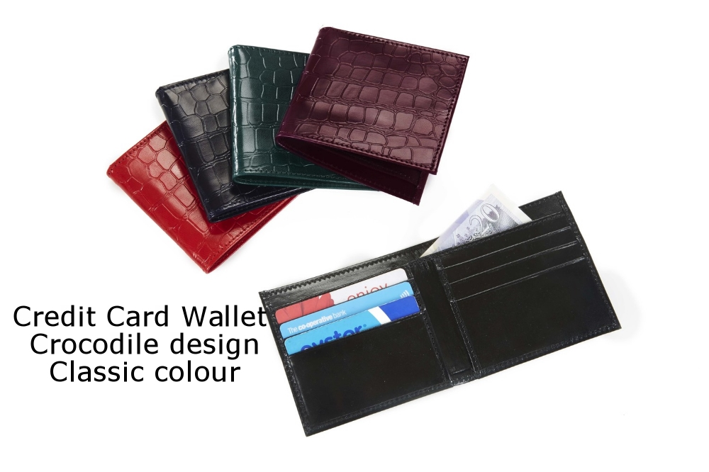 Credit Card Wallet Crocodile Classic.jpg