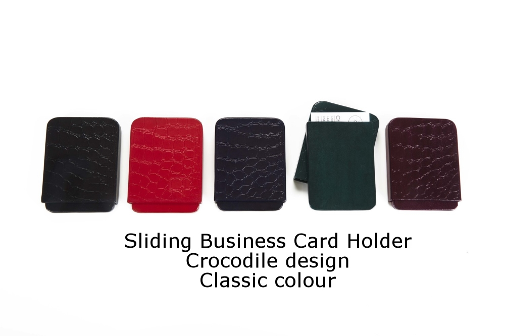 Sliding Business Card Holder Crocodile Classic.jpg