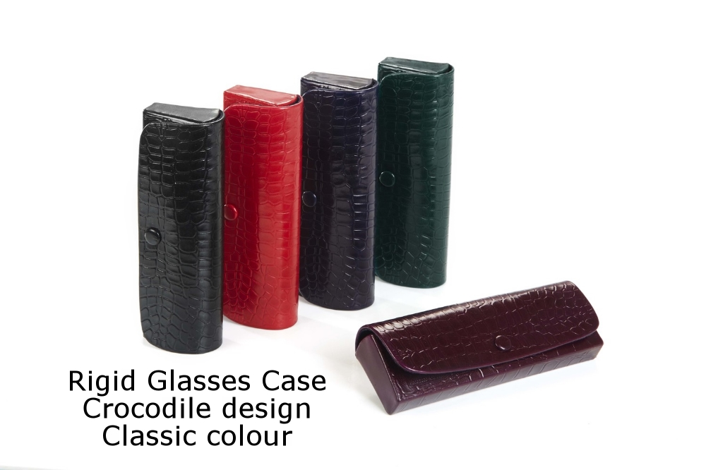 Rigid Glasses Case Crocodile Classic.jpg