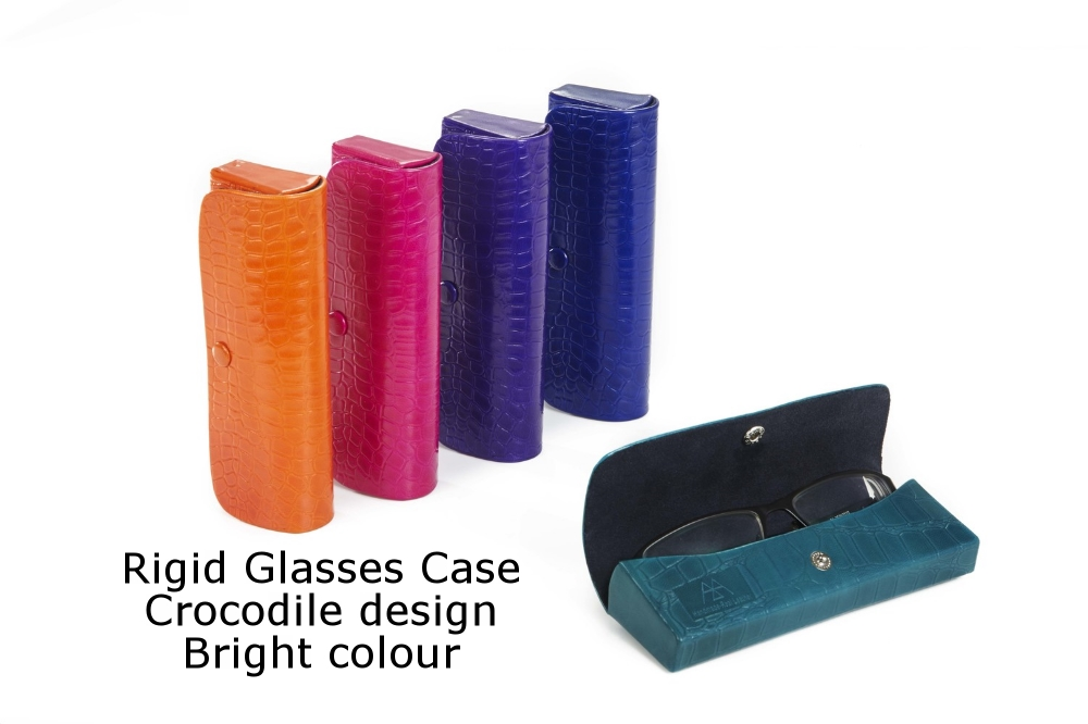 Rigid Glasses Case Crocodile Bright.jpg