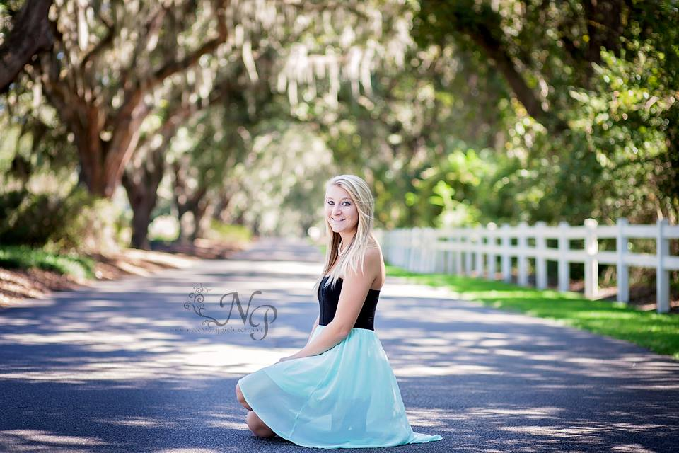 Caledonia Pawleys Island, SC senior portaits