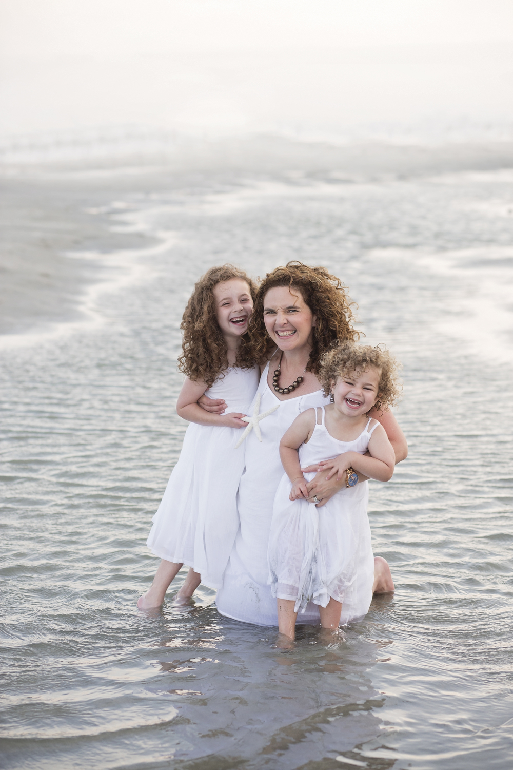 family beach portrait session cherry grove sc