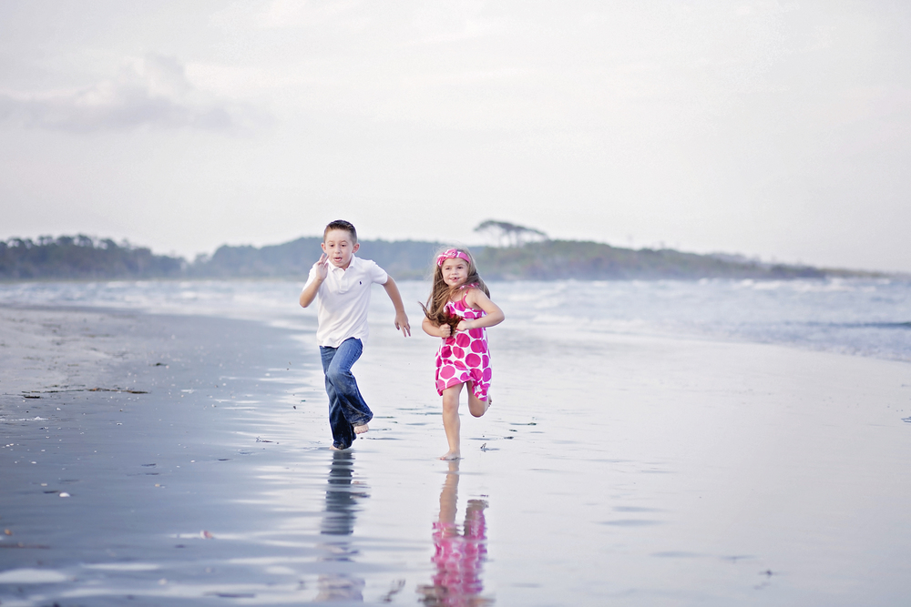 cherry grove family beach photography