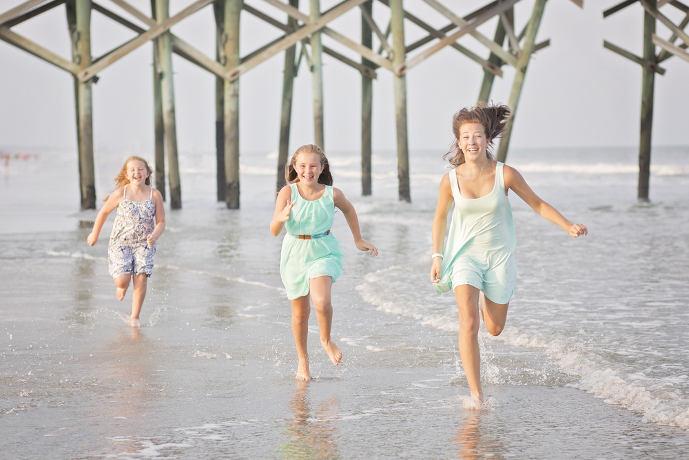 family beach photography surfside beach sc