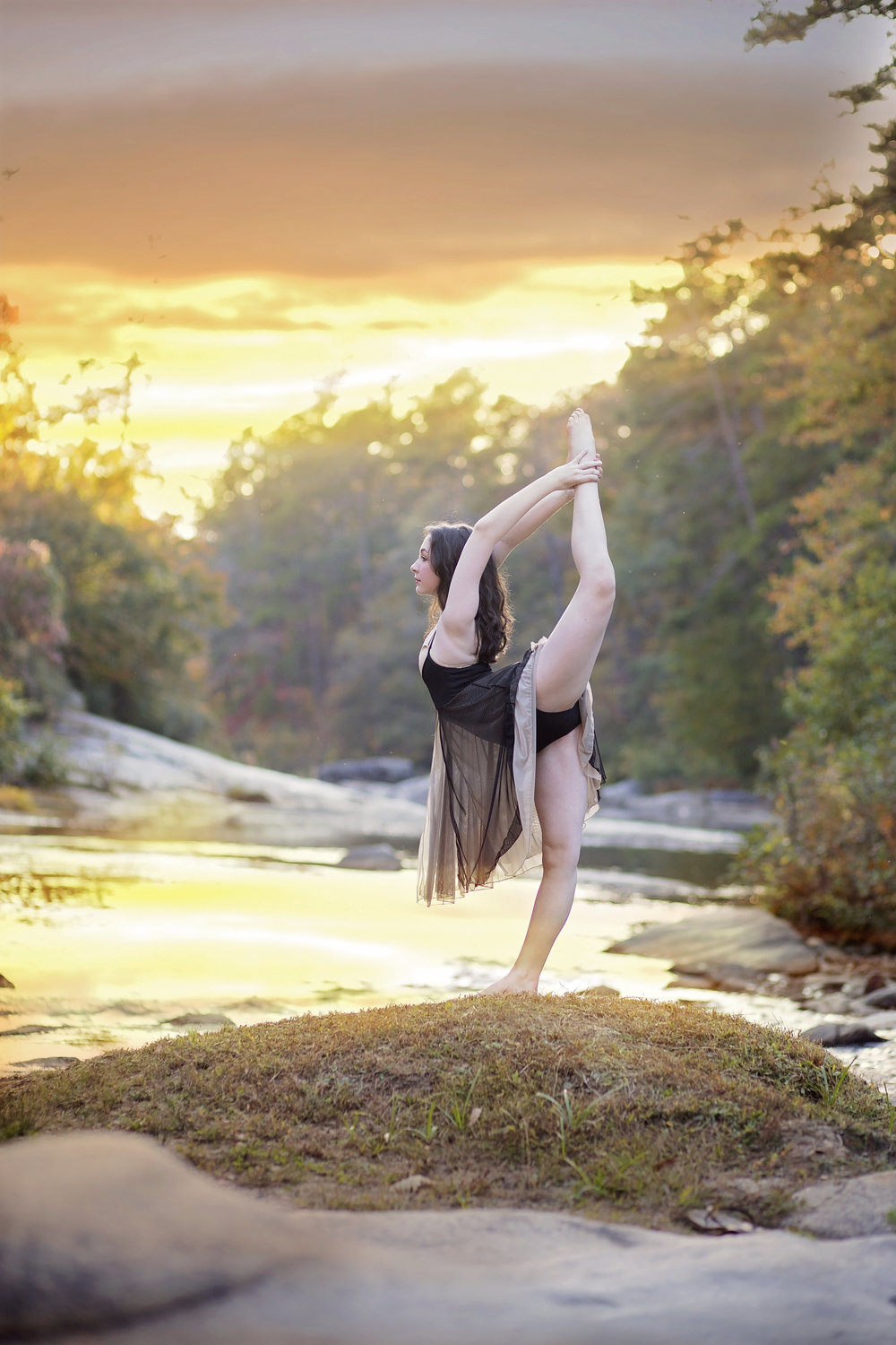 dance photography oconee county senior portraits