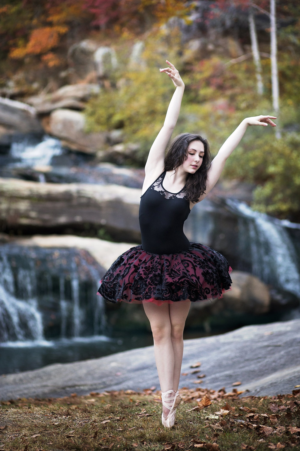 pickens sc photographer senior portraits ballet dance