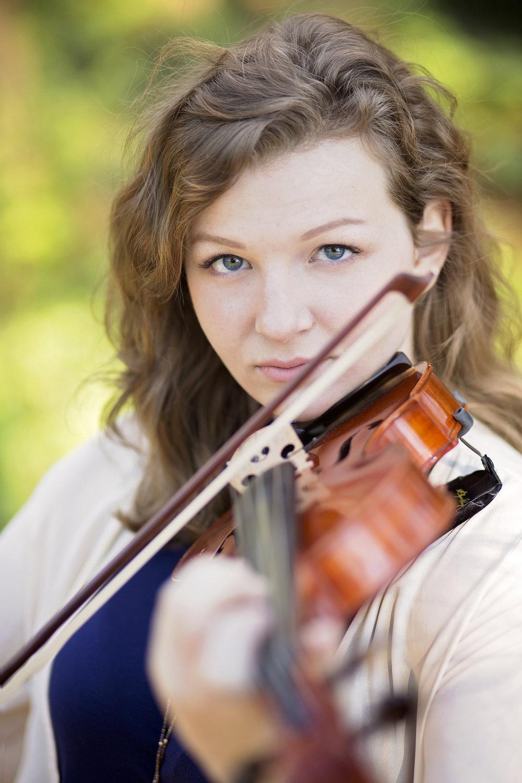 violin senior portraits clemson sc