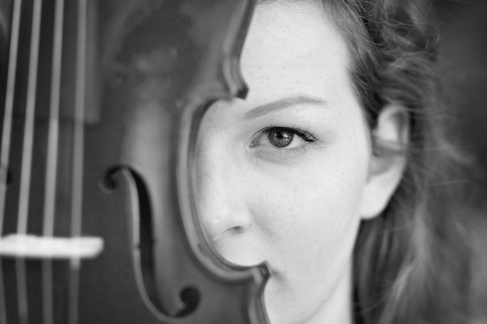 senior portraits violin clemson sc seneca high