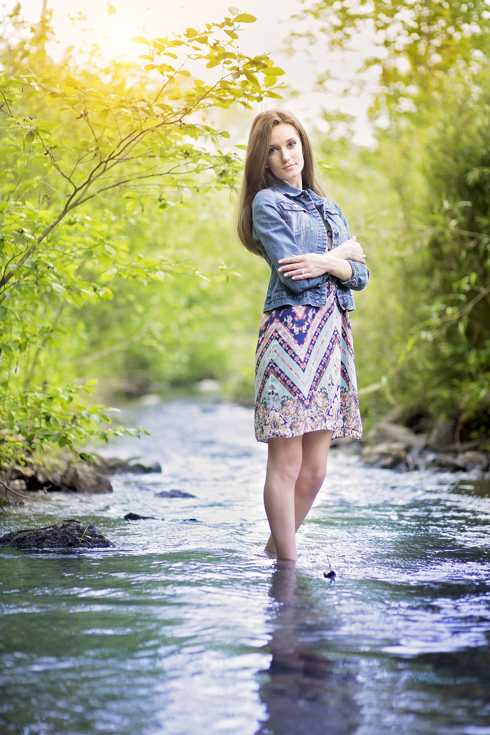 pickens sc senior portrait photographer hagood mill
