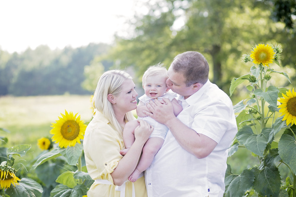 pickens sc photographer family sunflowers