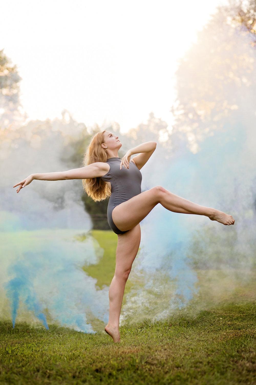 smoke bomb dance photography. South Carolina dance photographer