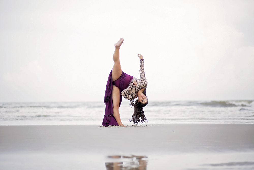 south carolina dance photography beach