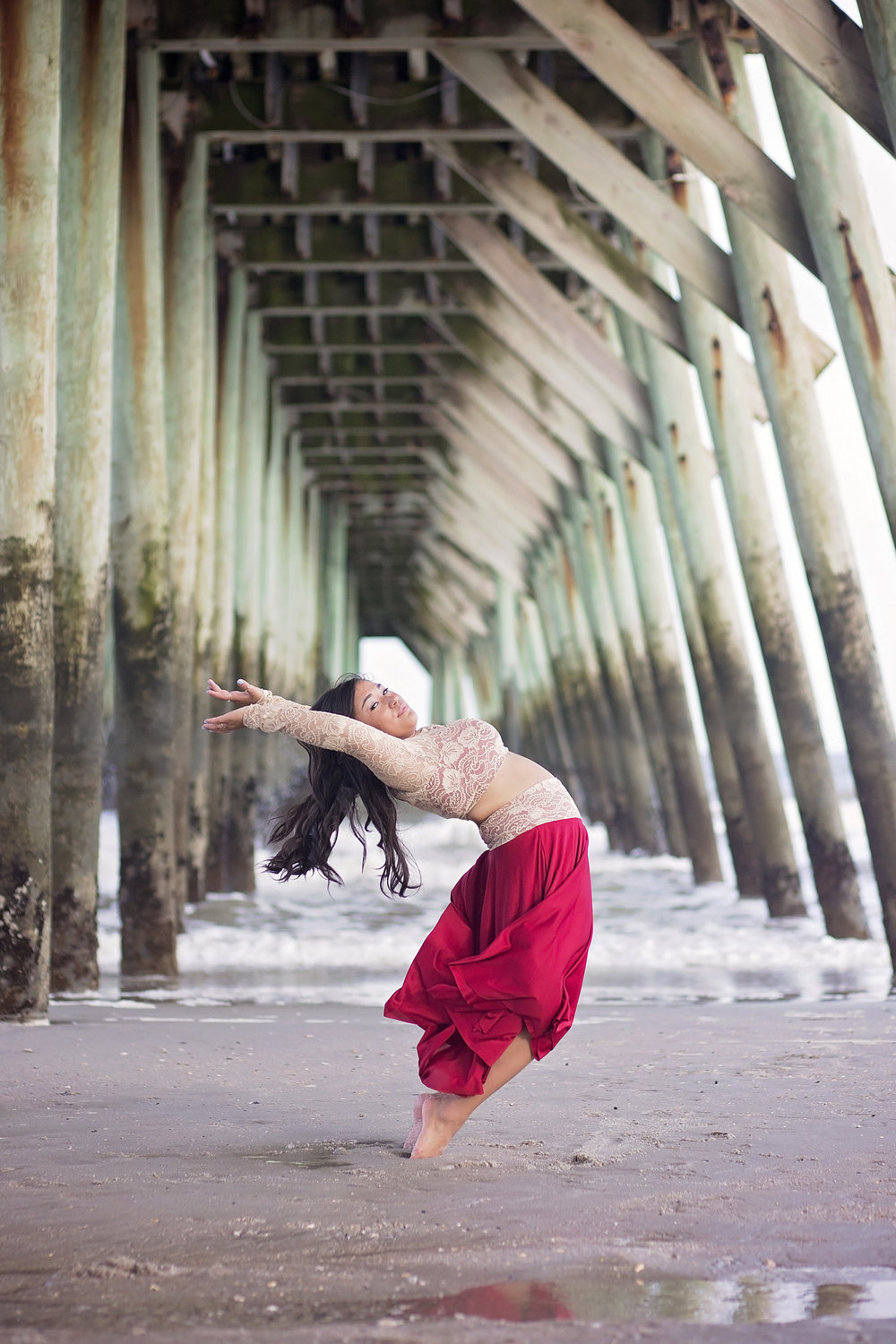 south carolina beach dance photography