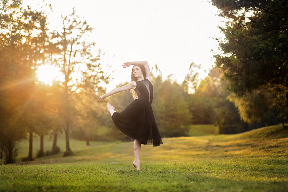 dance senior portrait sc