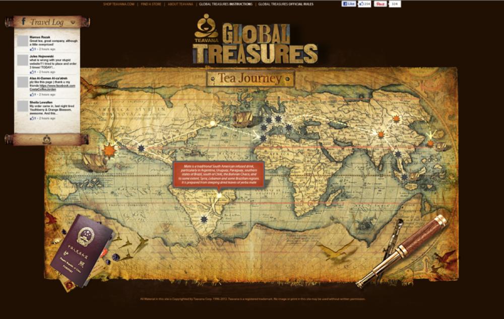 Global Treasures: Microsite