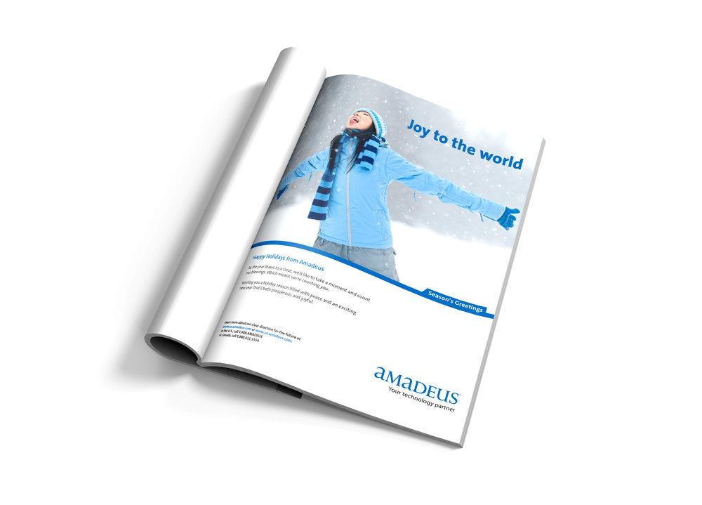 Amadeus North America Advertisement