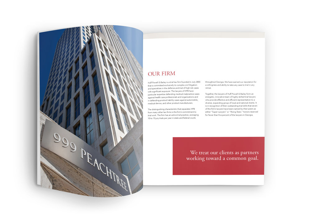 Atlanta Law Firm Brochure