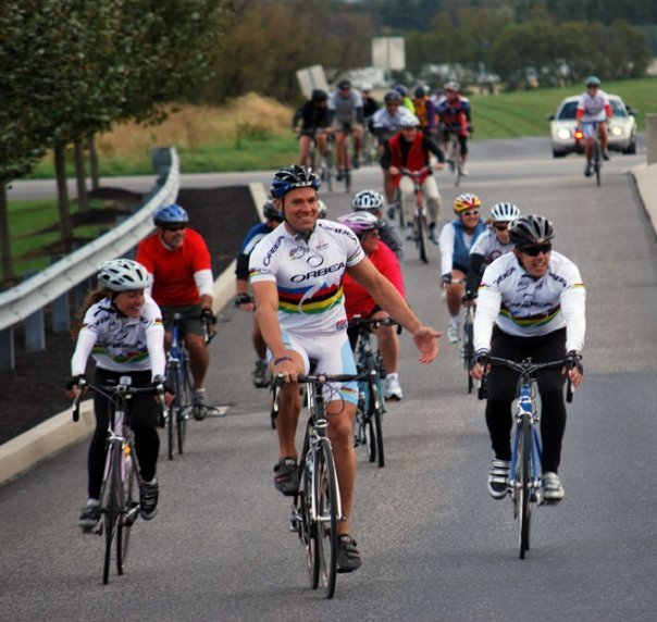 Andy Baldwin Health Ride