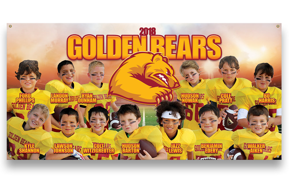 Football Breakaway Banner