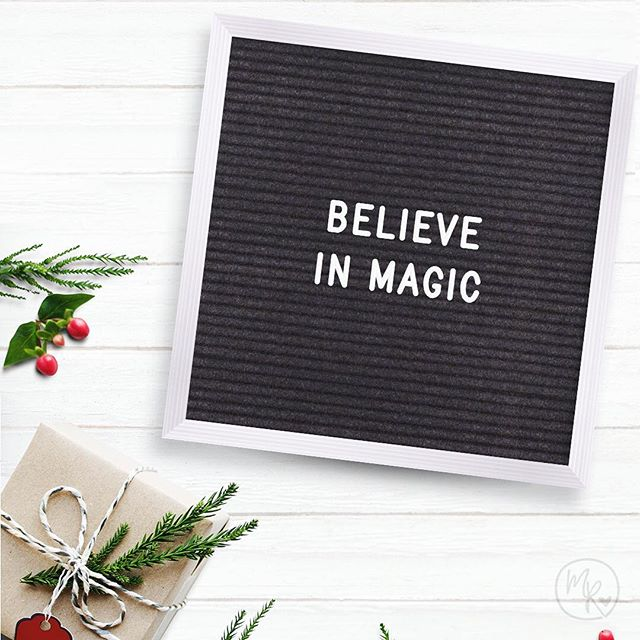 💫✨ Believe in Magic. ✨💫 #happyholidays #seasonsgreeting #freelancegraphics #graphicdesign #freelancedesigner